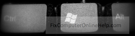 windows logo button on keyboard